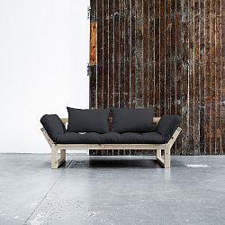 Sofa Karup Edge, prírodná/sivá