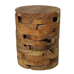 Stolička z teakového dreva HSM Collection Bata