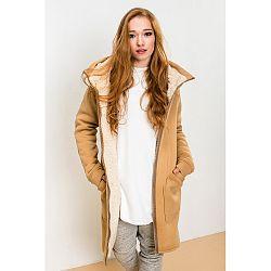 Svetlohnedá bunda Lull Loungewear Attitude, veľ. XS