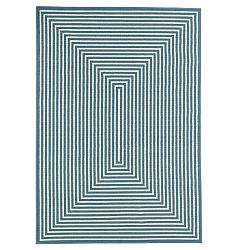 Svetlomodrý vysokoodolný koberec Webtappeti Braid, 200 x 285 cm