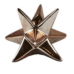 Svietnik KJ Collection Star Copper, 7,3 cm