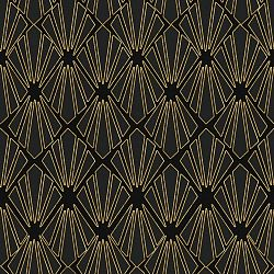 Tapeta Global Art Production Gold Geometry, 52x300cm (3 rolky)