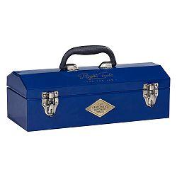 Tmavomodrý úložný box na náradie Gentlemen's Hardware Tool Box Navy
