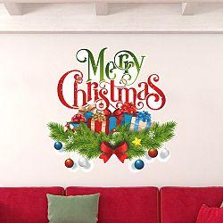Vianočná samolepka Fanastick Christmas Avec Neige