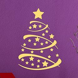 Vianočná samolepka Fanastick Christmas Tree