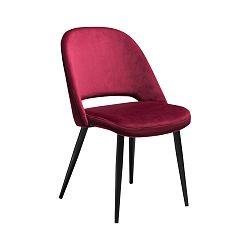 Vínovočervená jedálenská stolička DAN-FORM Denmark Grace