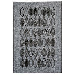 Vysokoodolný koberec Webtappeti Ethnic Grey, 160x230cm