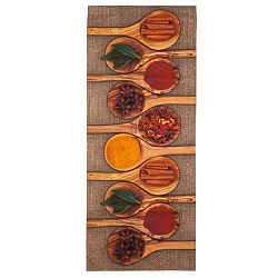 Vysokoodolný kuchynský behúň Webtappeti Spices, 60 x 220cm