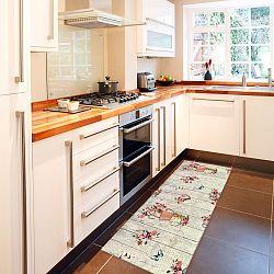 Vysokoodolný kuchynský koberec Webtappeti French Garden, 60 x 115 cm