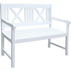 Záhradná lavica z akáciového dreva ADDU Malmo