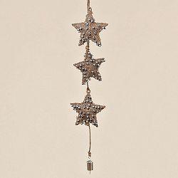 Závesná dekorácia Boltze Star Winter, 60 cm