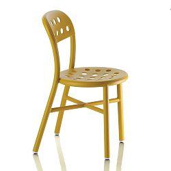 Žltá stolička Magis Pipe