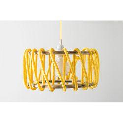 Žlté stropné svietidlo EMKO Macaron, 45cm
