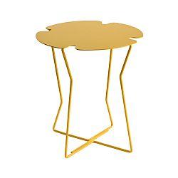 Žltý odkladací stolík MEME Design Corolla