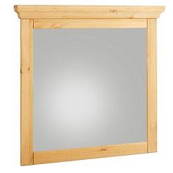 Zrkadlo s dreveným rámom Støraa Crayton, 70 x 70 cm