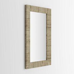 Zrkadlo v dekore duba sherwood MobiliFiver Giuditta, 65x110cm