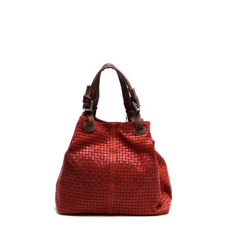 22c384b984 Červená kožená kabelka Isabella Rhea Ariya
