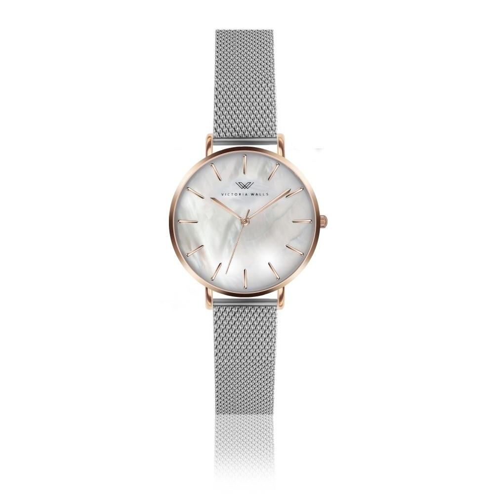 Dámske hodinky s kovovým remienkom Victoria Walls Pearl ... 7478c5b6aa5