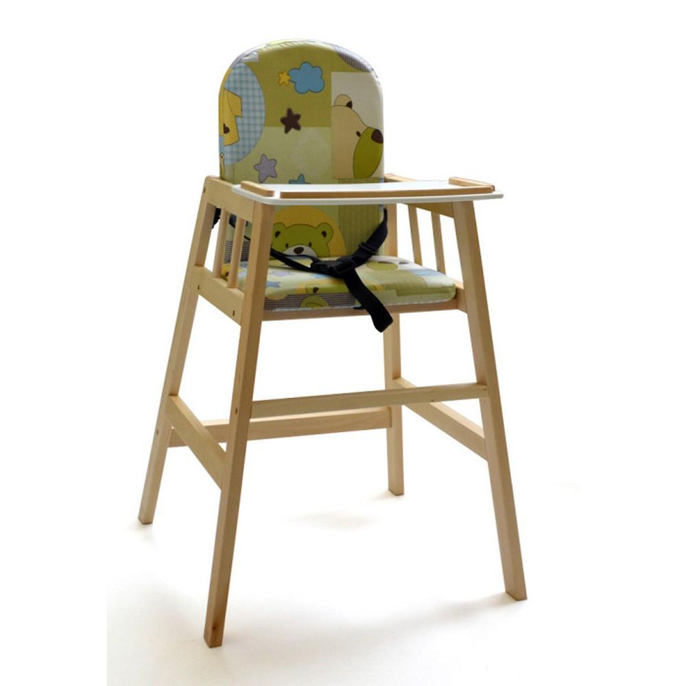 e581a9961398 Prírodná detská jedálenská stolička Faktum Abigel