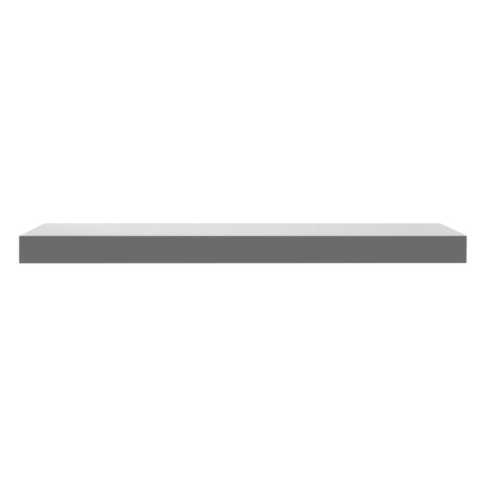 915dcc6b293d5 Sivá nástenná polička Intertrade Shelvy, dĺžka 60 cm | ČarovnýNábytok.sk
